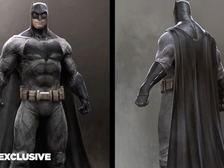 BATMAN V SUPERMAN Original Costumes Concept Art Released - Awesome!