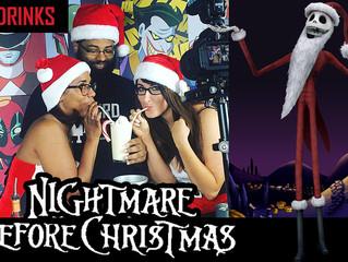 "The Nightmare Before Christmas ""Sandy Claws"" - Nerdbot Nerd Drinks"