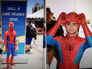 Did You Miss These Disguised Celeb Cosplayers at Comic-Con 2015?