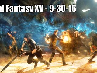 Final Fantasy XV Leaked Release Date