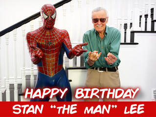 Happy Birthday Stan Lee! A List Of Characters He's Created.