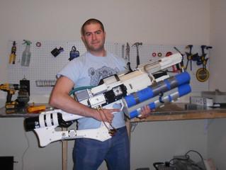 The 3D Printed Working Handheld Railgun!
