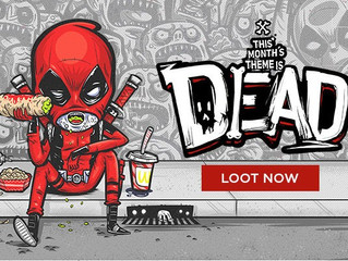 February Loot Crate Review: Dead