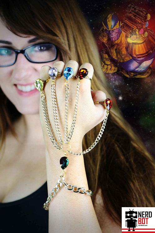 BACKORDER! Marvel Inspired Infinity Gauntlet Handchain