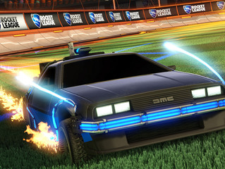 Back to the Future DeLorean Joins Rocket League!