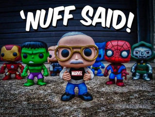 The Amazing World Of Stan Lee's Funko Pop.