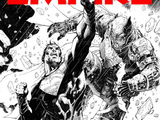Empire's Limited Edition BVS Cover! Illustrated By Jim Lee!