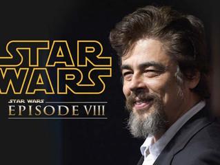 Benicio Del Toro Confirmed for Star Wars Ep. VIII (Sorta)