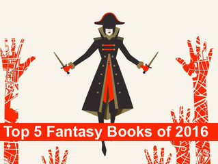 Counting Down the Top 5 Fantasy Books of 2016