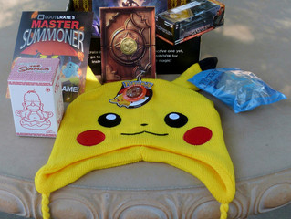 Loot Crate Review -September 2015 SUMMON