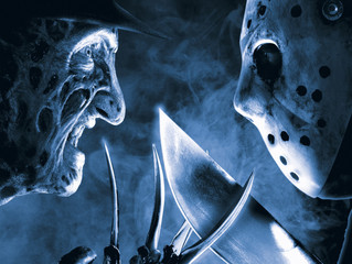"Nerdbot October Horror Reviews - Freddy Vs. Jason ""He may get the blood but I'll get the gl"