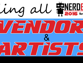 Vendor Pricing & Reservations Open