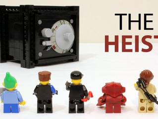LEGO Safe With A Working Combination Lock  - Whoa