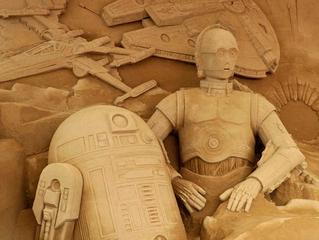 Japanese Star Wars Sand Sculpture - Wow