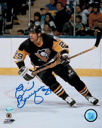 Phil Bourque Autographed 8x10 Photo - 1990 Season