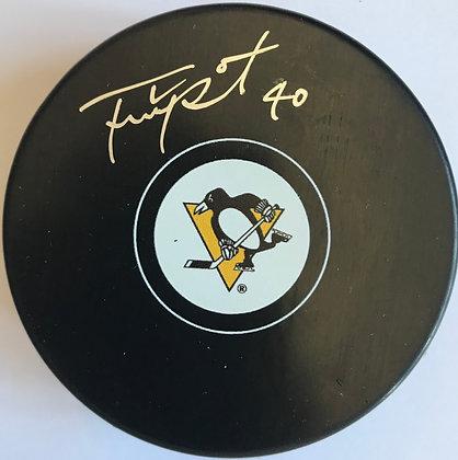 Frank Pietrangelo Autographed Penguins Puck