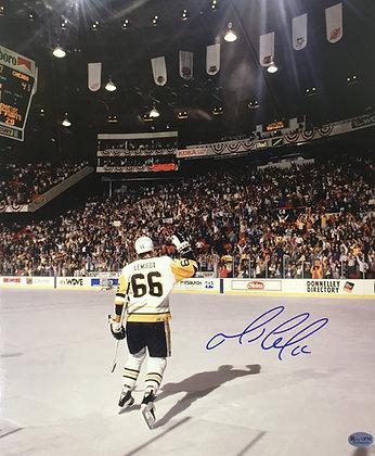 Mario Lemieux Autographed 11x14 Photo - #1 Star