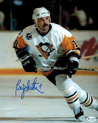 Bryan Trottier Autographed 8x10 Photo -Penguins 1