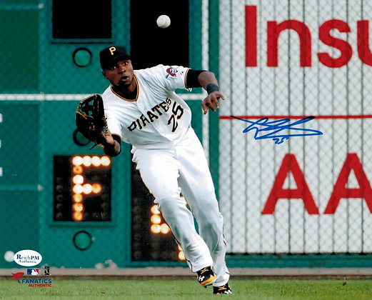 Gregory Polanco Autographed 8x10 Photo - Pirates