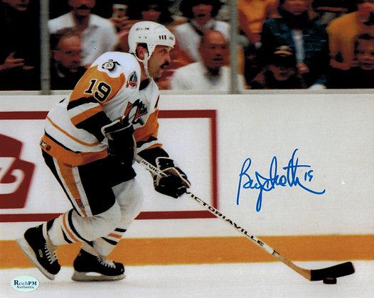 Bryan Trottier Autographed 8x10 Photo -Penguins 2