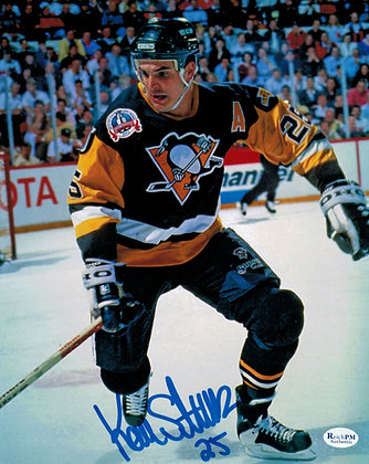 Kevin Stevens Autographed 8x10 Photo -Penguins