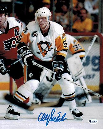 Ulf Samuelsson Autographed 8x10 Photo -White
