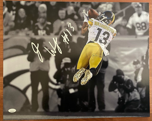 James Washington autographed 16x20