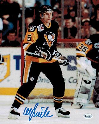 Ulf Samuelsson Autographed 8x10 Photo -Black