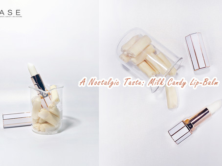 A Nostalgic Taste: Lick Your Lips to Reminisce Your Childhood with Milk Candy Lip-balm