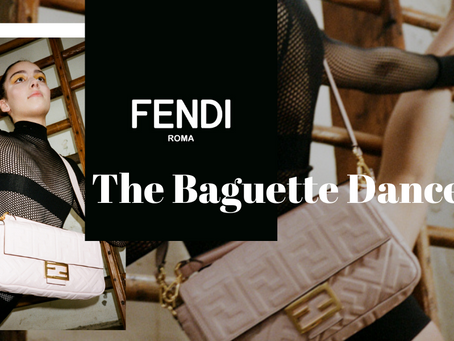 Dancing with FENDI's Iconic Baguette Bag