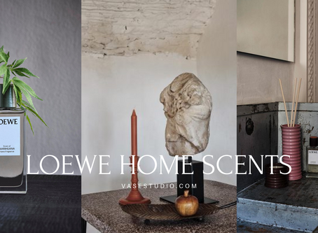 Celebrating World Candle Month with LOEWE Newly Launched Plant-Based Home Scents