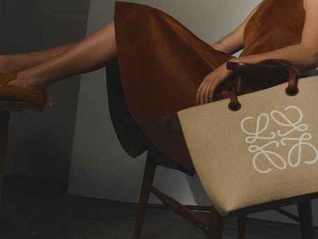 LOEWE's Iconic Anagram Jacquard Bag Collection