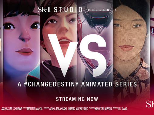 """Ready to Battle? SK-II Studio Returns With """"VS"""" Your Favourite Animated Anthology Series"""