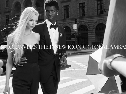 Tiffany & Co. Unveils Their New Iconic Global Ambassadors