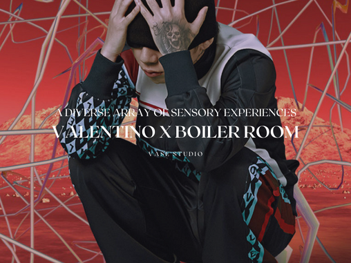 Valentino x Boiler Room Collaborate Second Time To Champion GlobalMusic Talent
