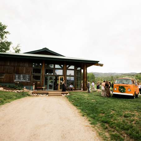 Steamboat Springs, CO Wedding | Perry-Mansfield Performing Arts School | VW Bus Photo Booth