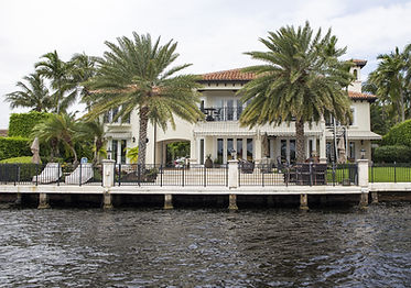 Waterfront real estate in Fort Lauderdal