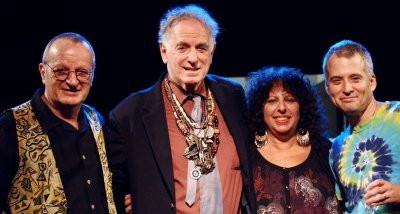2009: David Bennet Cohen (CJ&FIsh), David Amram, Jbird and Allan