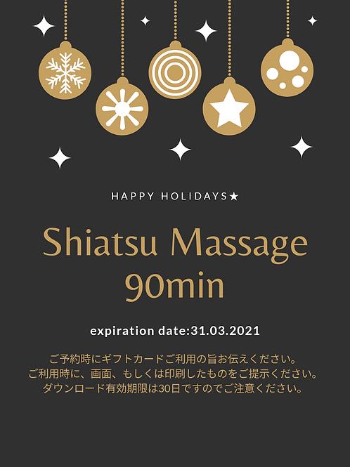 Shiatsu Massage 90min