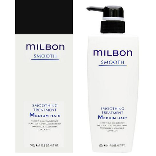Milbon Smoothing Treatment medium 500g【店頭お渡し】