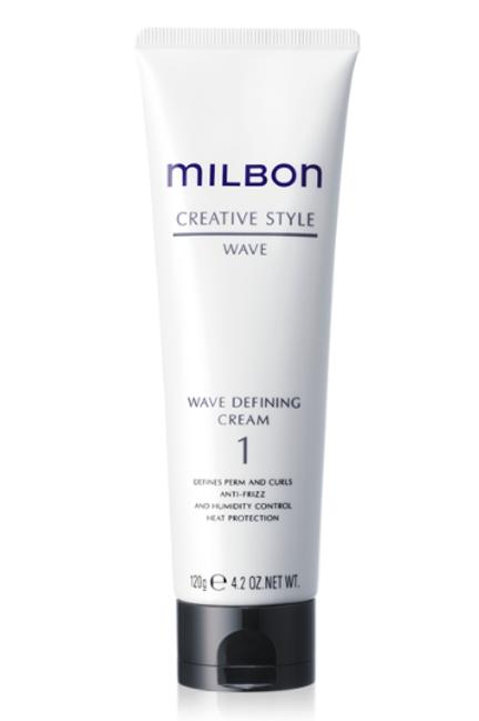 Milbon Wave Defining Cream 1  120g【店頭お渡し】