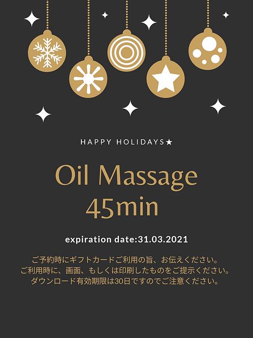 Oil Massage 45min