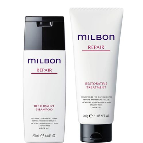 Milbon Repair Shampoo&Treatment 各200㎖【店頭お渡し】