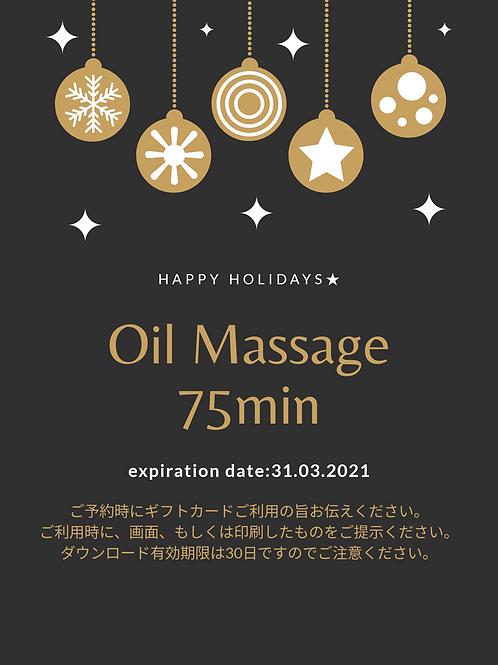 Oil Massage 75min