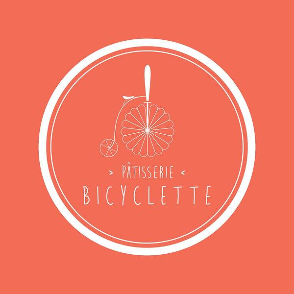 Pâtisserie Bicyclette, Montréal. Bicylette, outil à découpe pour tarte. Conception de l'identité et illustration Laurent Pinabel