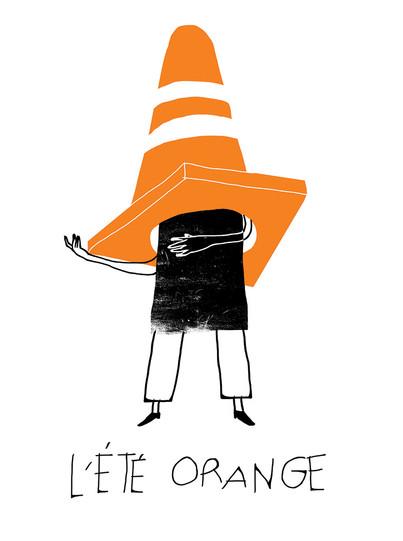 L'été orange