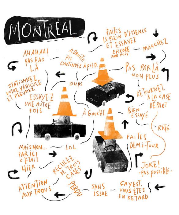 Montréal, jeu de pistes