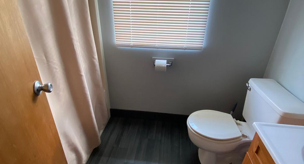 Cabin Bathroom View