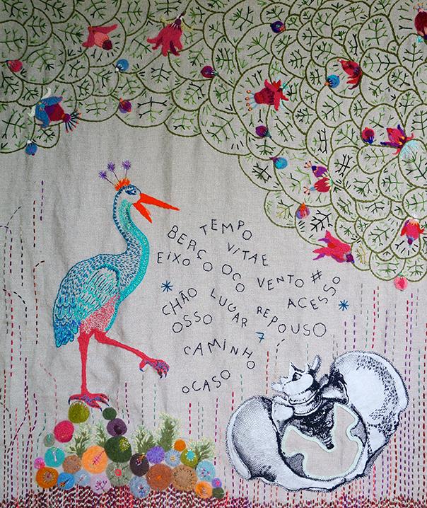 Pássaro e Bacia