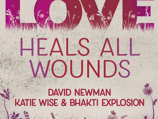 LOVE HEALS ALL WOUNDS AVAILABLE NOW!